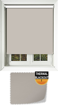 Blackout Thermic Stone Vertical Blind