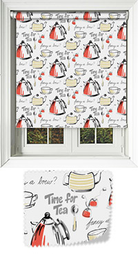 Brewtime Roobios Vertical Blind