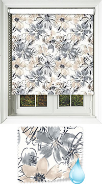 Brushstrokes Natural Cordless Roller Blind