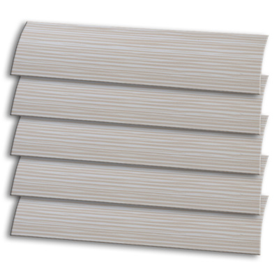 Buff Stripe Barley Replacement Vertical Blind Slat