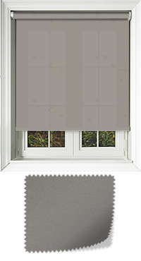Cambric Dove Grey Roller Blind