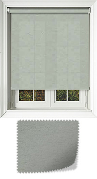Cambric Duck Egg Motorised Roller Blind