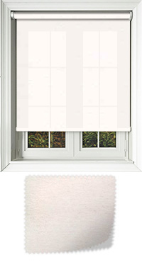 Cambric Glacier Skylight Blind