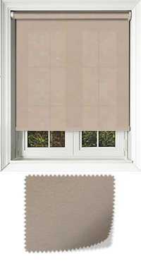 Cambric Hemp Vertical Blind