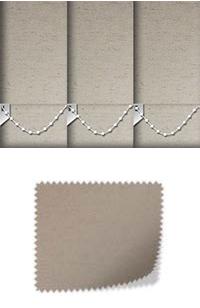 Cambric Hemp Vertical Blind