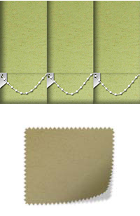 Cambric Pistachio Wooden Blind