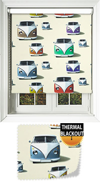 Campervan Cream Roller Blind