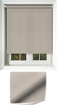 Canvas Buff Cordless Roller Blind
