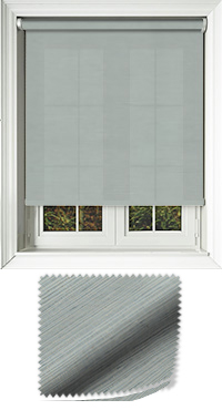 Canvas Celeste Replacement Vertical Blind Slat