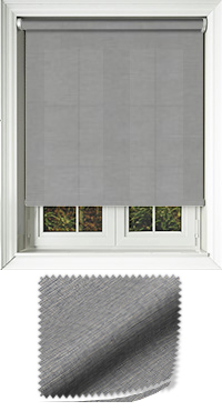Canvas Onyx Replacement Vertical Blind Slat
