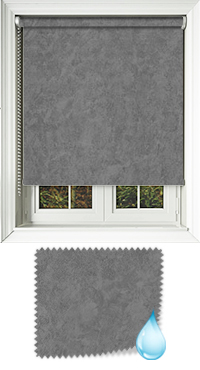 Chamois Grey Vertical Blind