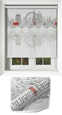 City Horizon London Motorised Roller Blind