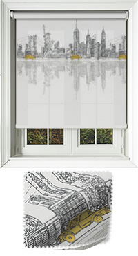 City Horizon New York Roller Blind