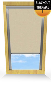Coffee Motorised Roller Blind