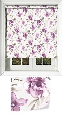 Courtyard Aubergine Vertical Blind