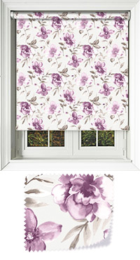 Courtyard Aubergine Replacement Vertical Blind Slat
