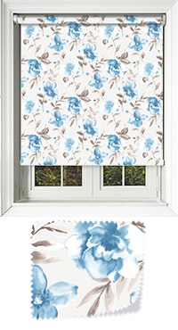 Courtyard Blue Venetian Blind