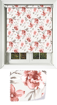 Courtyard Copper Cordless Roller Blind