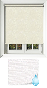Crackles Ivory Replacement Vertical Blind Slat