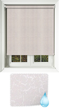 Crackles Porcelain Cordless Roller Blind