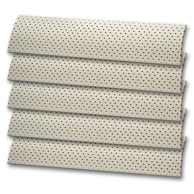 Cream Perforated Roller Blind