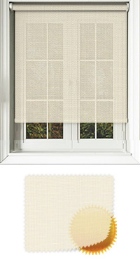 Cream Sun Screen Replacement Vertical Blind Slat
