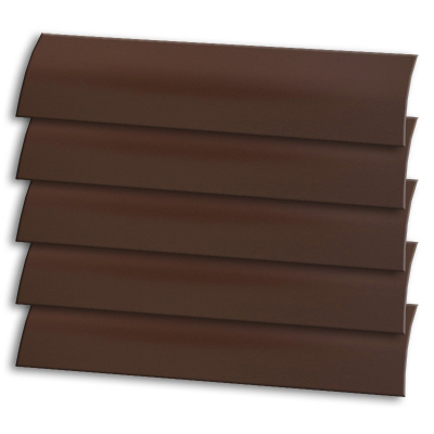 Dark Chocolate Cordless Roller Blind