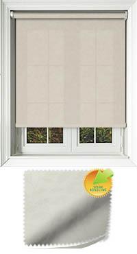 Delia Solar Vanilla Replacement Vertical Blind Slat