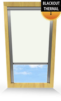 Delicate Cream Skylight Blind
