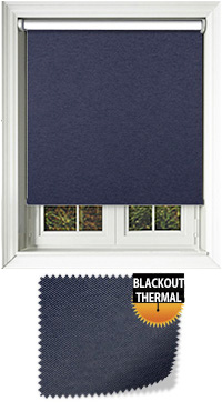 Denim Blue Venetian Blind