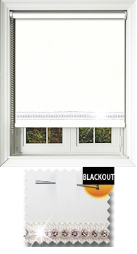 Diamonte Ice Skylight Blind