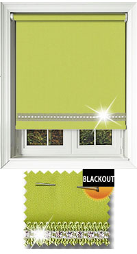 Diamonte Zing Motorised Roller Blind