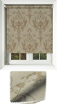 Distinction Champagne Roller Blind