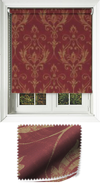 Distinction Scarlet Roller Blind