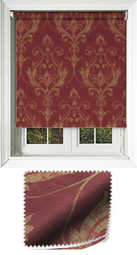 Distinction Scarlet Replacement Vertical Blind Slat