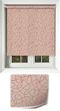 Doodle Coral Replacement Vertical Blind Slat