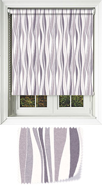 Drench Grey Whisper Motorised Roller Blind