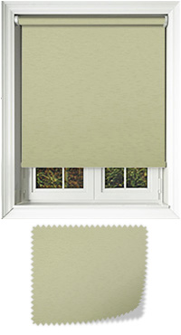 Eternal Cream Bifold Doors Blind
