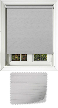 Eternal Silver Cordless Roller Blind
