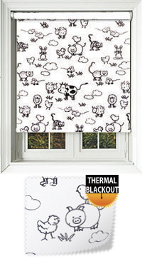 Farmyard Milk Replacement Vertical Blind Slat