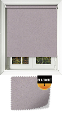 Faux Suede Damson Roller Blind