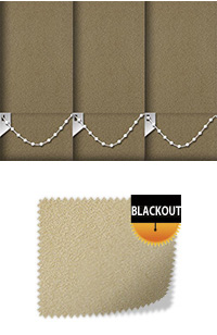 Faux Suede Mocha Skylight Blind