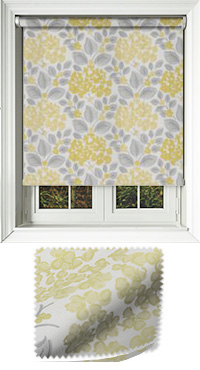 Flowerbed Primrose Vertical Blind