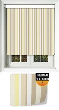 Funky Stripe Sunshine Replacement Vertical Blind Slat
