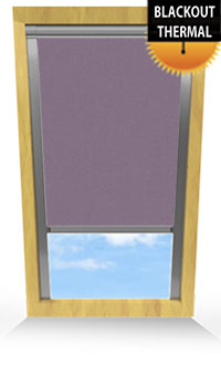 Gentle Lavender Wooden Blind