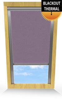 Gentle Lavender Skylight Blind