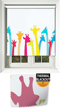 Giraffe Multi Motorised Roller Blind