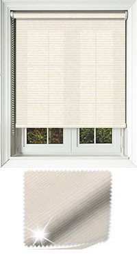 Glitter Stripe Gold Vertical Blind
