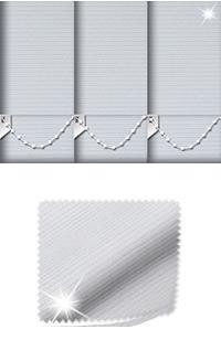 Glitter Stripe Silver Skylight Blind