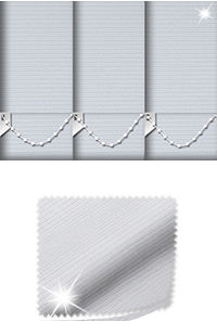 Glitter Stripe Silver